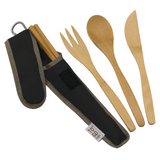ToGo Wear Reusable Bamboo Utensil Set