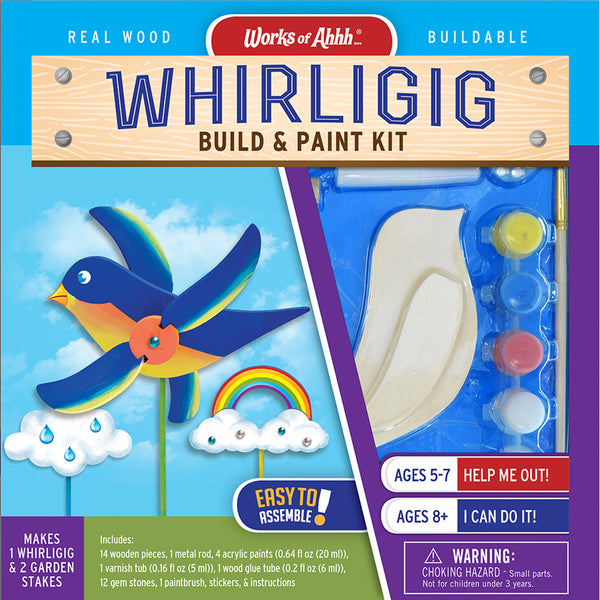 Whirligig Build & Paint Kit