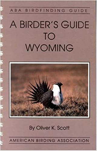 USED - Birder's Guide to Wyoming, Scott