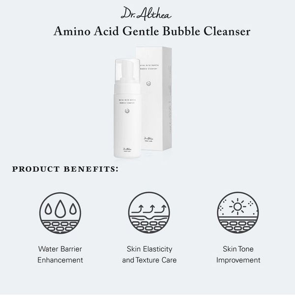 Amino Acid Gentle Bubble Cleanser 140ml