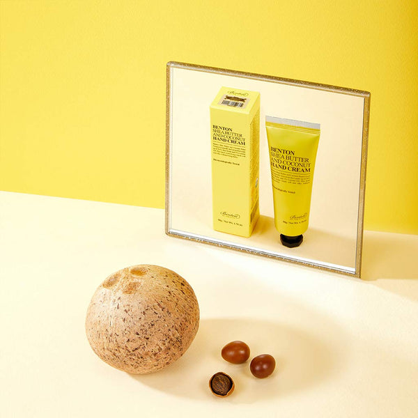 Shea Butter And Coconut Hand Cream 50g