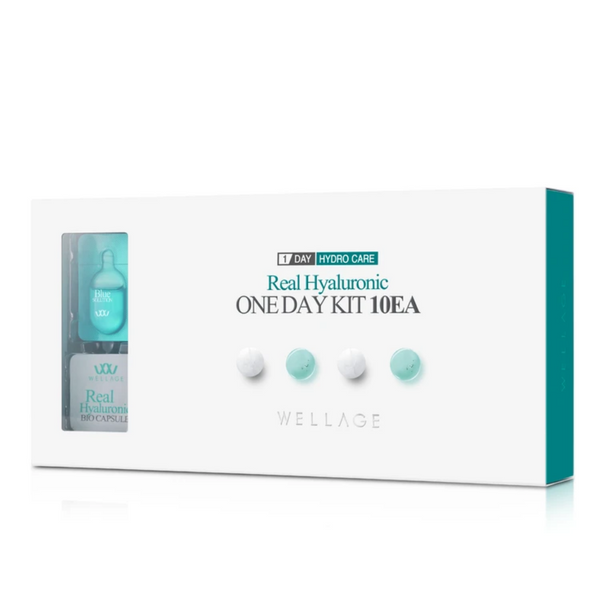 Real Hyaluronic Bio Capsule & Blue Solution One Day Kit 10-Day Set