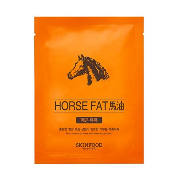 Beauty in a Food Mask Sheet (Horse Fat)