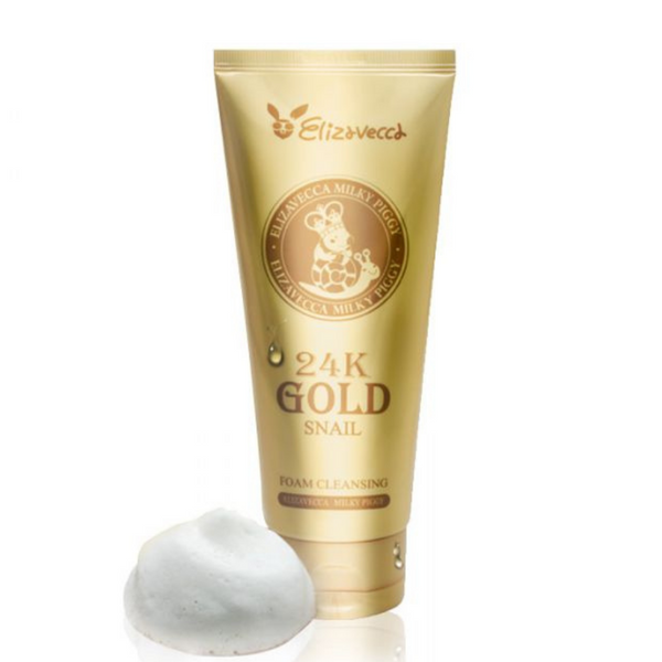 Milky Piggy 24K Gold Snail Foam Cleansing 180ml