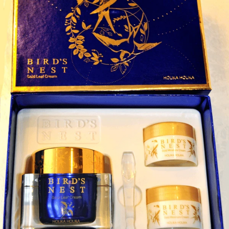 Prime Youth Bird's Nest Gold Leaf Cream 55ml (3 pcs)