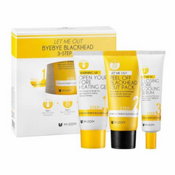 Let Me Out Byebye Black Head 3-Step Kit