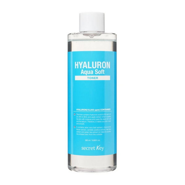 Hyaluron Aqua Soft Toner 500ml