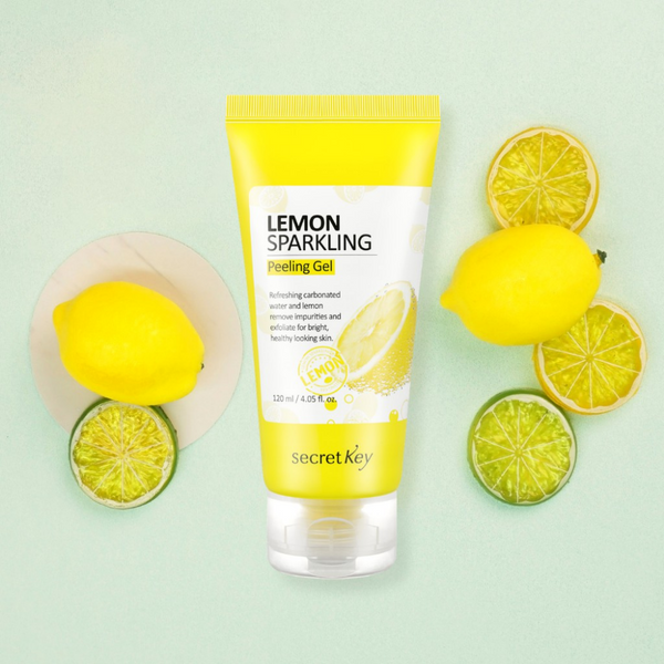 Lemon Sparkling Peeling Gel 120ml
