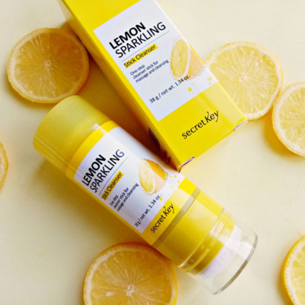 Lemon Sparkling Stick Cleanser 38g