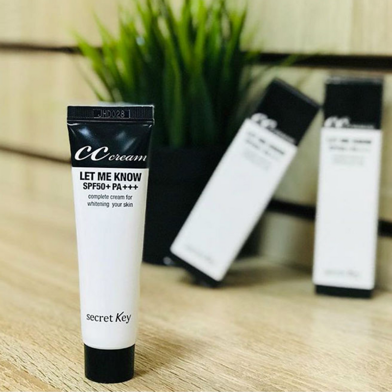 Let Me Know CC Cream SPF50+ PA+++ 30ml