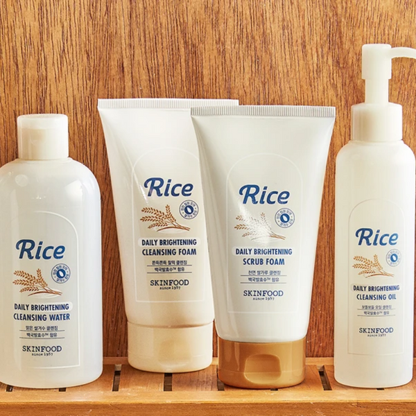 Rice Daily Brightening Scrub Foam 150ml
