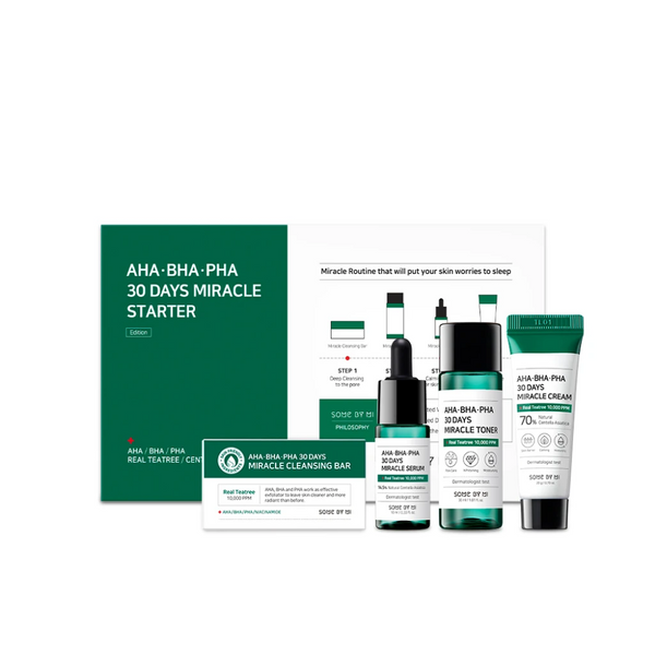 AHA, BHA, PHA 30 Days Miracle Starter