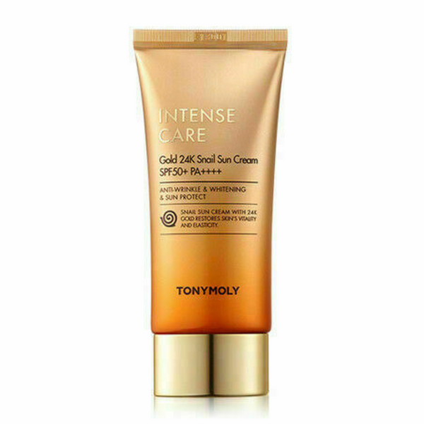 Intense Care Gold 24K Snail Sun Cream SPF50+ PA++++ 50ml