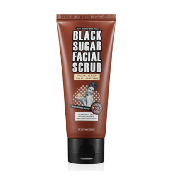 Black Sugar Facial Scrub 100ml