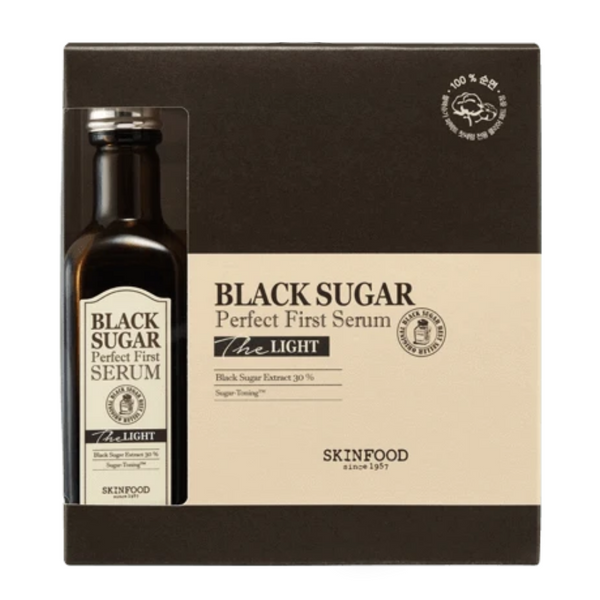 Black Sugar Perfect First Serum The Light 120ml + 60pcs (cotton)