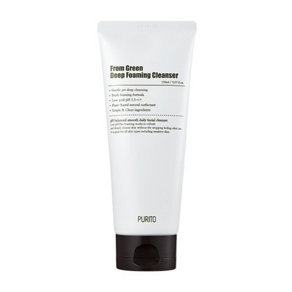 From Green Deep Foaming Cleanser 150ml
