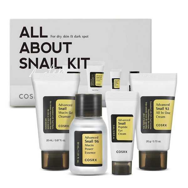 All About Snail Kit 4 pcs