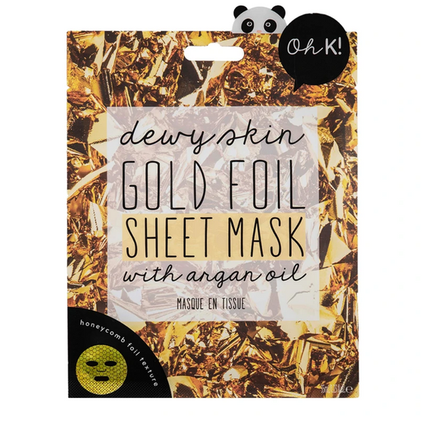 Dewy Skin Gold Foil Sheet Mask