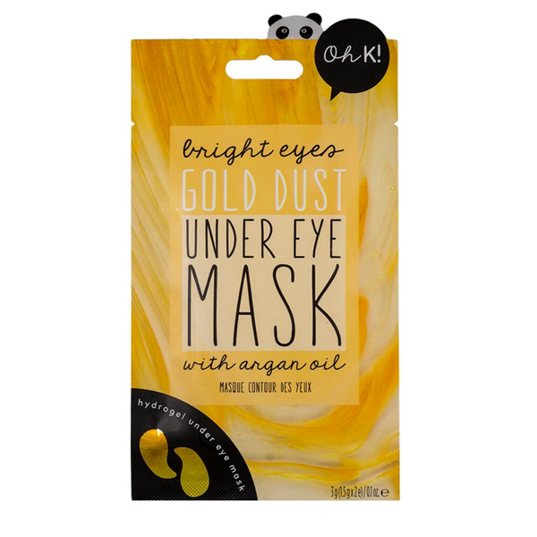 Bright Eyes Gold Dust Under Eye Mask