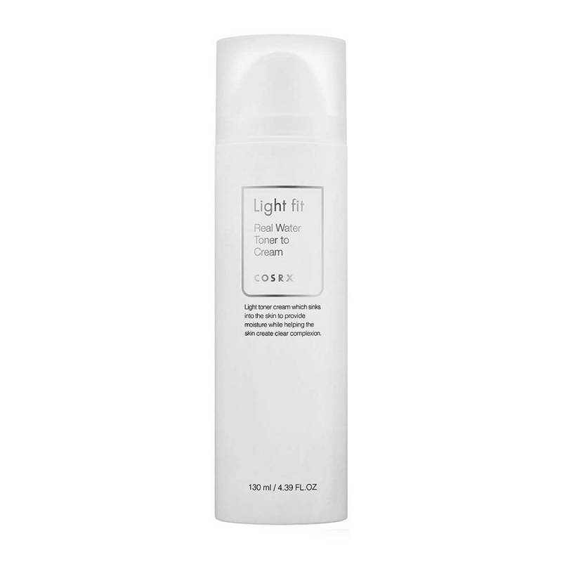 Light Fit Real Water Toner To Cream 130ml