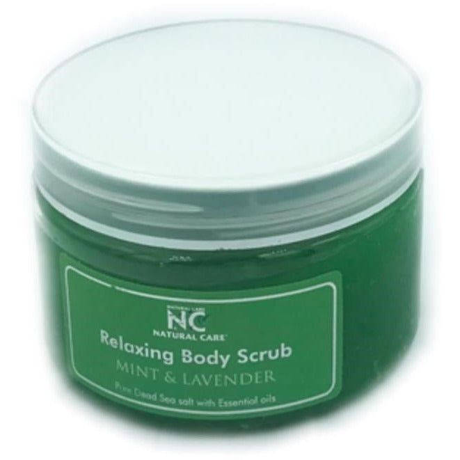 DEAD SEA Relaxing Body scrub with Mint Lavender oil
