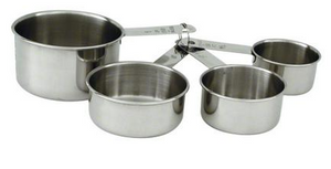 Measuring Cup Stainless Steel 4 PC Set