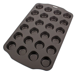 Mini Muffin Pan 24 Cup Non-Stick
