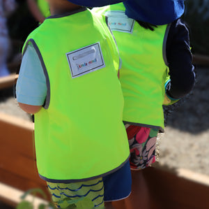 Premium kids Hi Vis Vest with ID Pocket - No Logo