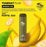 TUGBOAT PLUS DISPOSABLE POD DEVICE - Banana Ice