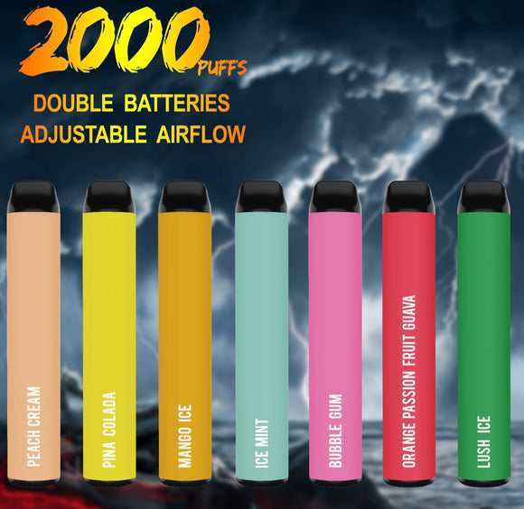 Onevape Giant Disposable Kit 1000mAh 2000puffs(OEM)