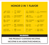 Vcan Honor 2 in 1 Dual Flavors Disposable 4400 Puffs