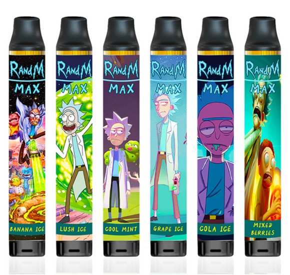 RandM Max 1700Puffs Disposable 1100mAh