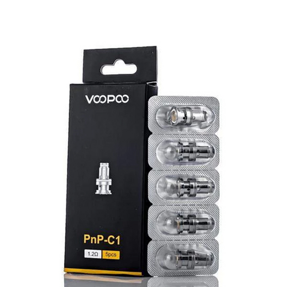 VOOPOO PnP Replacement Coils for Drag Baby Trio/Find Trio/VINCI/VINCI R 5pcs/Pack