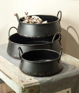Steel - Pot Set
