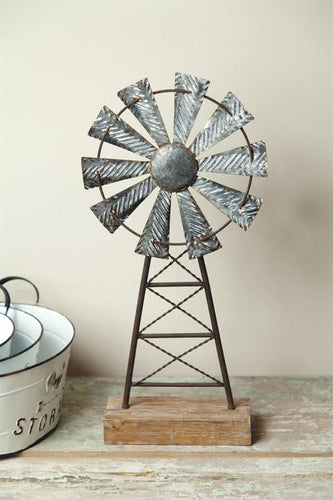 Table Decor - Windmill
