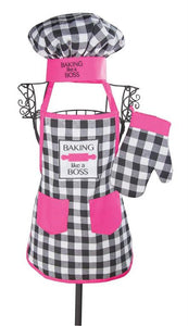 Kids Chef Set - Boss Girl