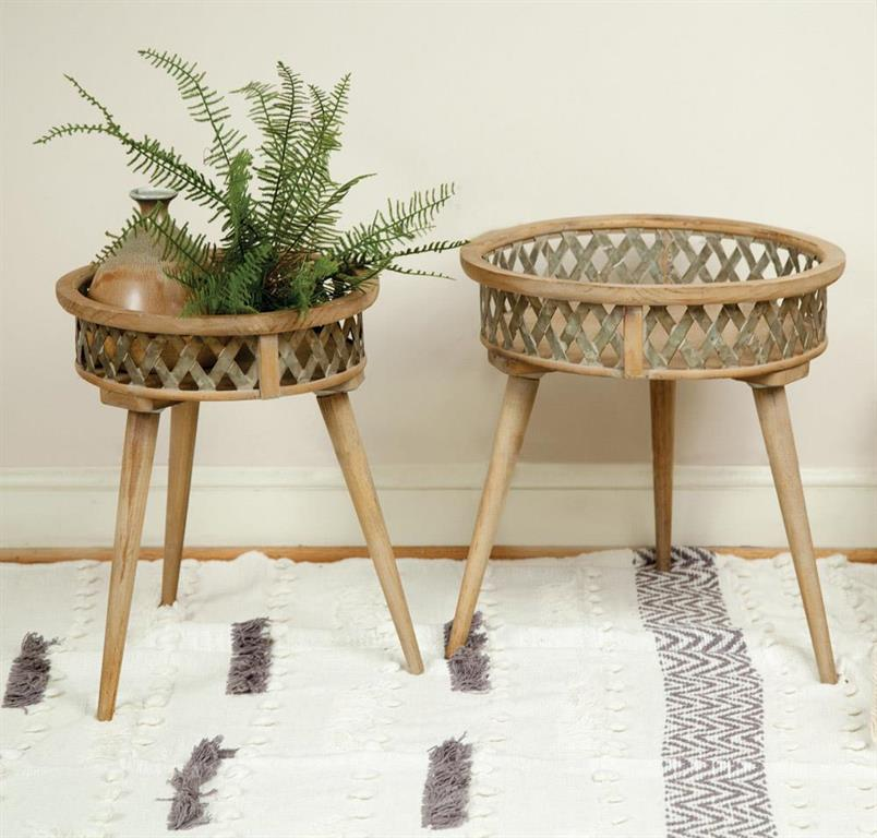 Side Table - Basket