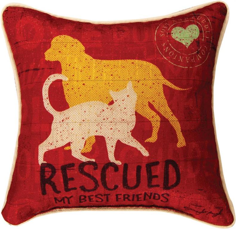 Pillow - Rescued Dog