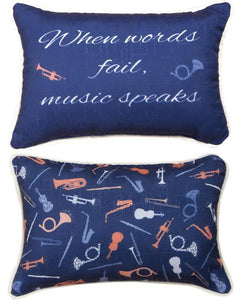 Pillow - Music Speaks