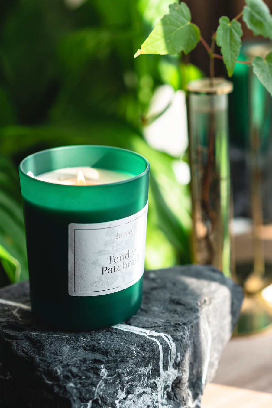 Natural Scented Candle Tendre Patchouli - 180gr