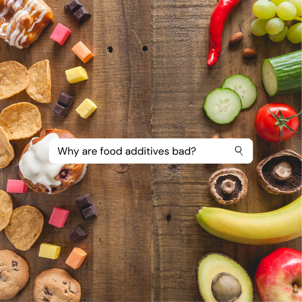 Food Additives Every Day Will Not Keep the Doctor Away!