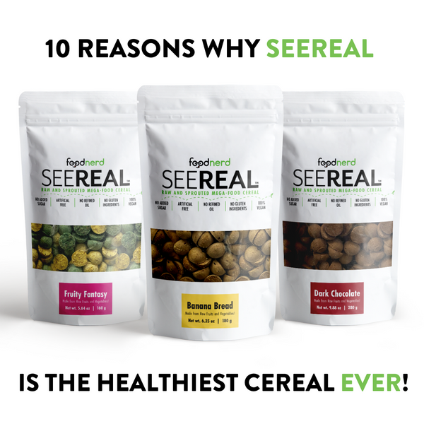 10 Reasons Why SeeReal is the Healthiest Cereal Ever Made