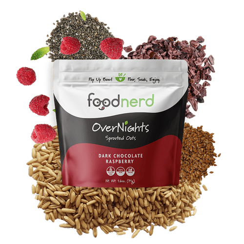 Dark Chocolate Raspberry Sprouted Oats 15.00% Off Auto renew
