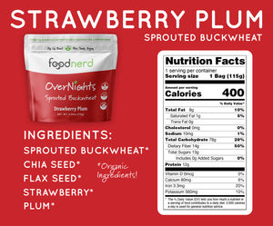 Strawberry Plum Buckwheat