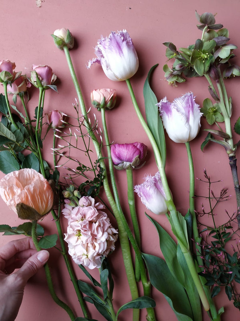 Mother's Day hand tied bunch workshop