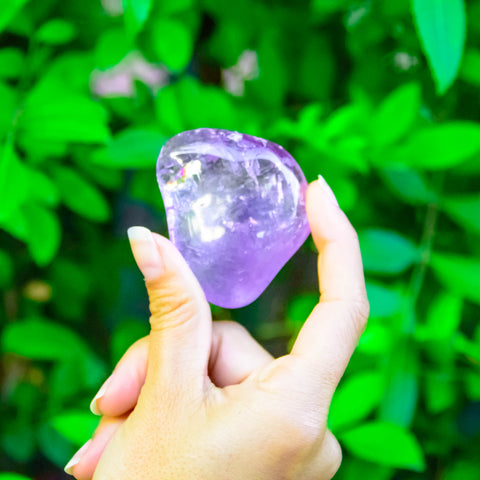 Amethyst properties for healing and spiritual well being for all ages.