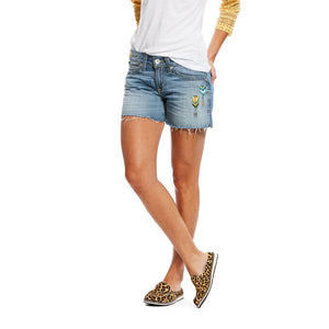 Boyfriend Arrow Shorts - Vault Country Clothing