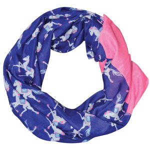 Women's Voile Print Scarf