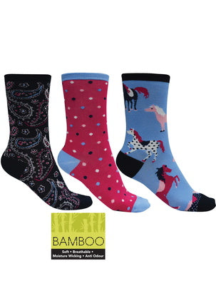 Bamboo Socks 3 pack - Vault Country Clothing