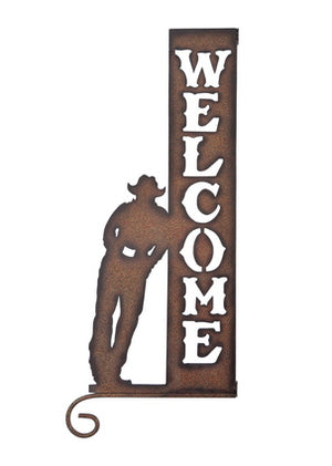 Cut Out Welcome Sign - Vault Country Clothing